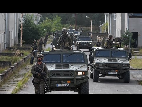 Nations prepare to take over NATO's spearhead force