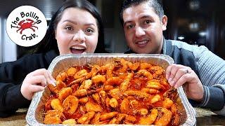 Making Boiling Crab Shrimp at Home! How to Make Whole Sha-Bang Seafood Boil Shrimp