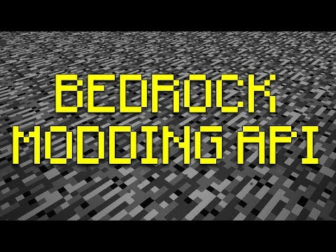 Minecraft Bedrock Edition Modding API In The Works!
