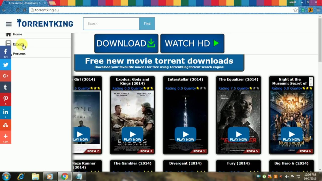 Hd movies torrent