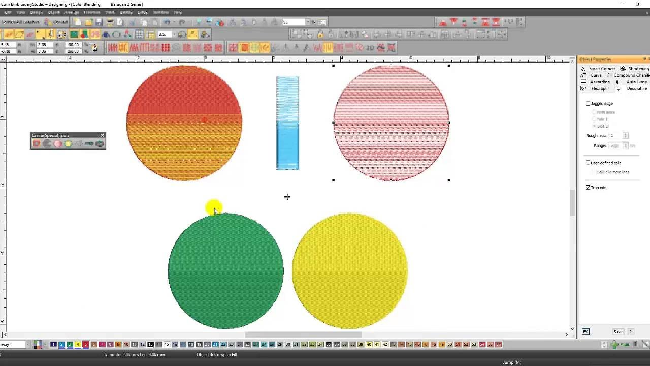 Wilcom EmbroideryStudio e3 0 Elements: Focus on Shading and Open Fills