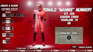 Houston Football: 2019 NSD: Mannie Nunnery