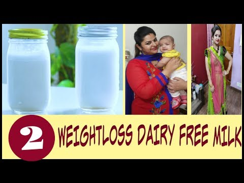 Non-Dairy Milk Recipes for Weight Loss | How To Make Dairy Free Milk at Home | Fat to Fab