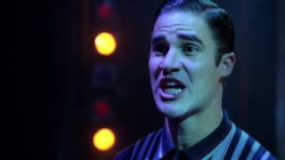 GLEE - Somebody That I Used To Know (Matt Bomer and Darren Criss) Full HD