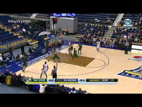 Northern Arizona vs. Sacramento State Highlights - Big Sky Men