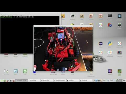 fischertechnik TXT controller : Discovery #71 - Firmware, wifi, sonar, sensors, Python, ROBOPro