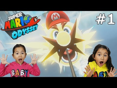 任天堂スイッチ♪スーパーマリオオデッセイ実況「私電気になりました!」#1himawari-CH