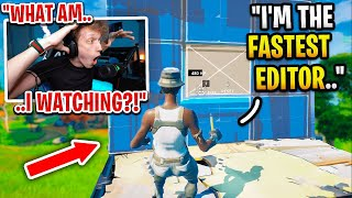 I spectated the FASTEST EDITOR in Fortnite... (Ryft)