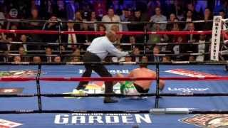 STEVE USS CUNNINGHAM KNOCKS DOWN TYSON FURY!