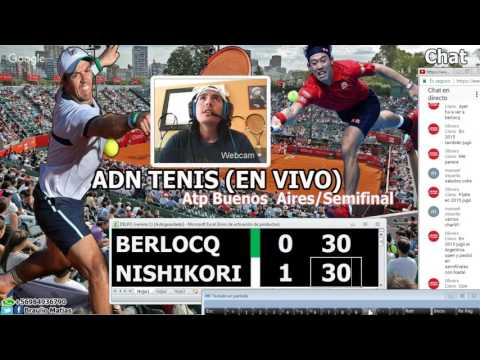 Carlos Berlocq v Kei Nishikori Semifinal Argentina Open