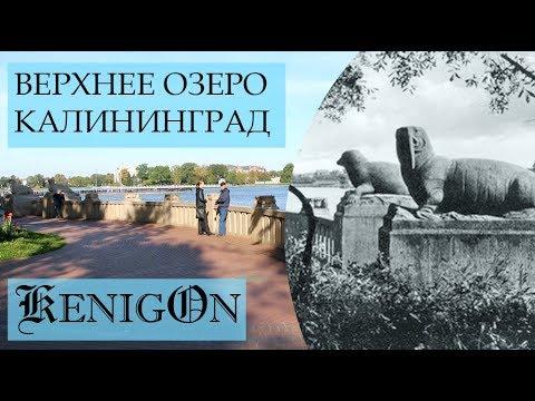 Верхнее озеро Калининград. Верхний пруд. Oberteich Kaliningrad. Обертайх.