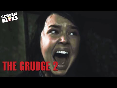 The Grudge 2 - Scary locked in cupboard OFFICIAL HD VIDEO