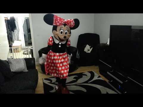 Minnie Mouse Mascot Costume