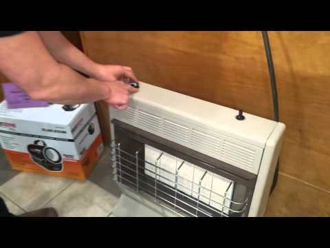 How to Light Your Gas Heater