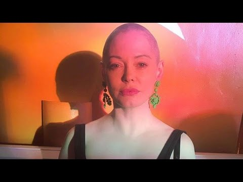 Rose McGowan Debuts Shaved Head on Instagram