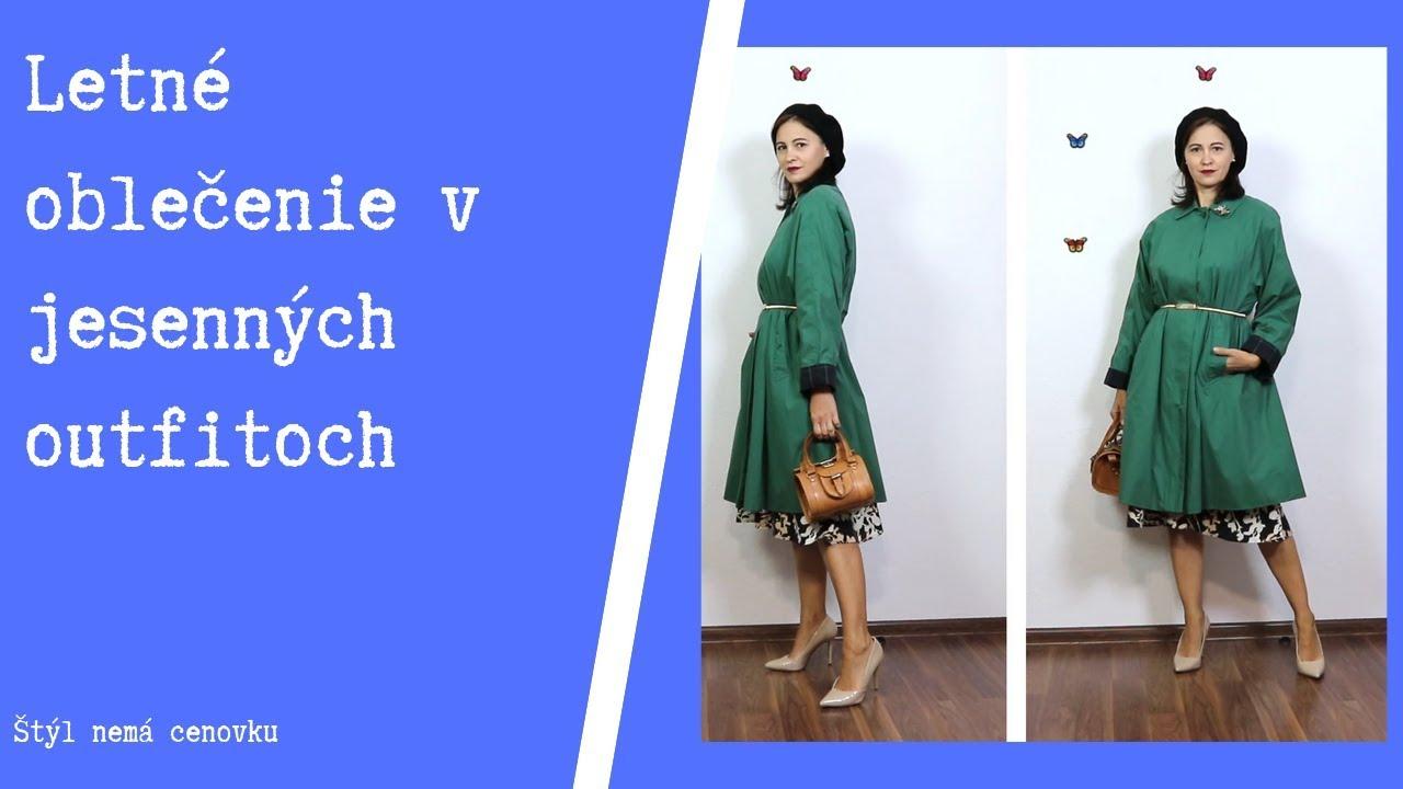 [VIDEO] - Letné oblečenie v jesenných outfitoch - second hand / Summer clothes - autumn outfits (thrift haul) 6