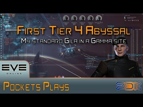 EVE Online: Tier 4 Gamma - Abyssal Deadspace - Gila - YouTube