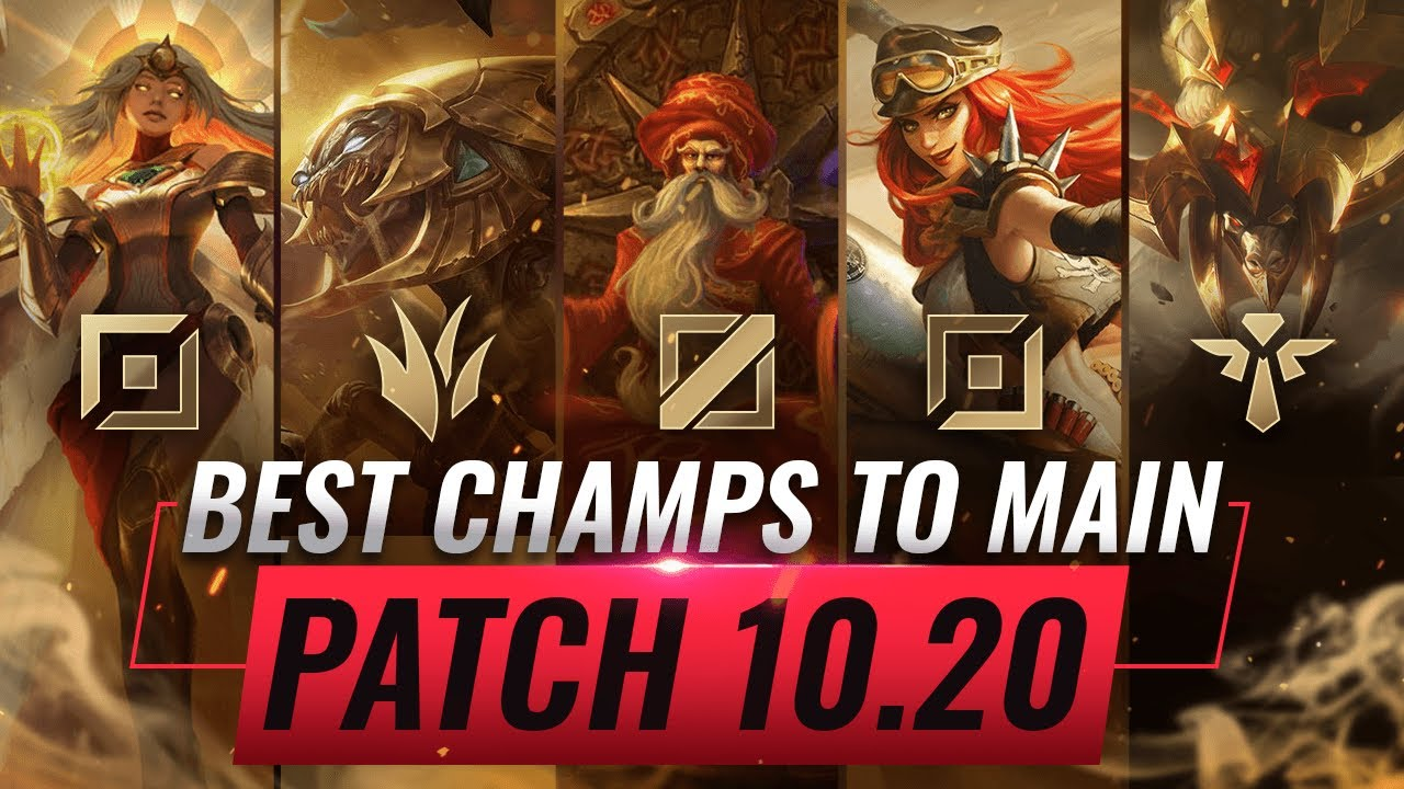 3 Best Champions To Main For Every Role In Patch 10 20 League Of Legends Season 10 Youtube