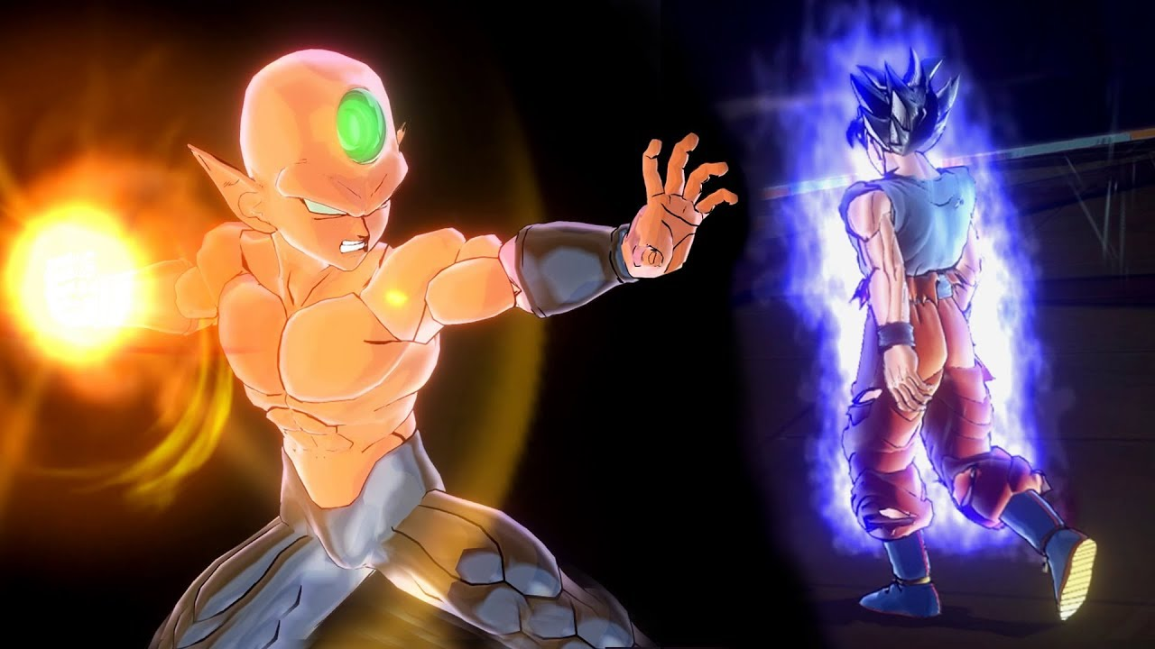 Universe 2 Super Warrior Rabanra Vs Ultra Instinct Goku Dragon Ball Xenoverse 2 Mods