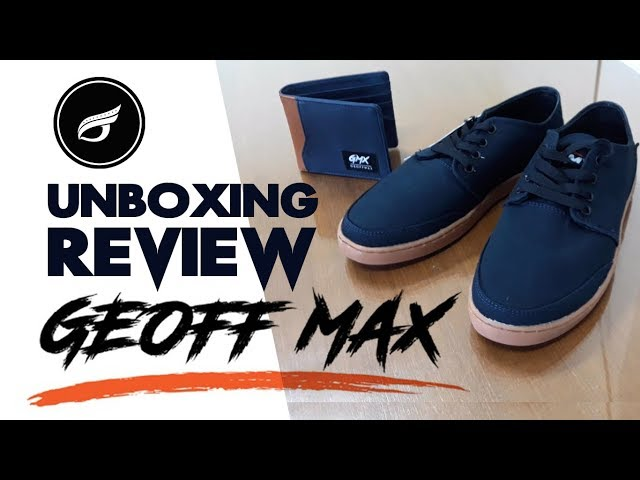 UNBOXING & REVIEW | GEOFF MAX Authentic Navy Gum & Volker Navy + SKATE TEST
