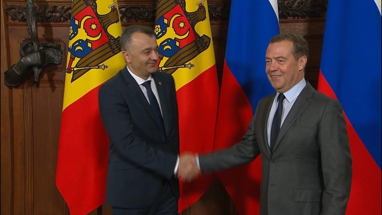 Визит премьера Молдовы в Россию