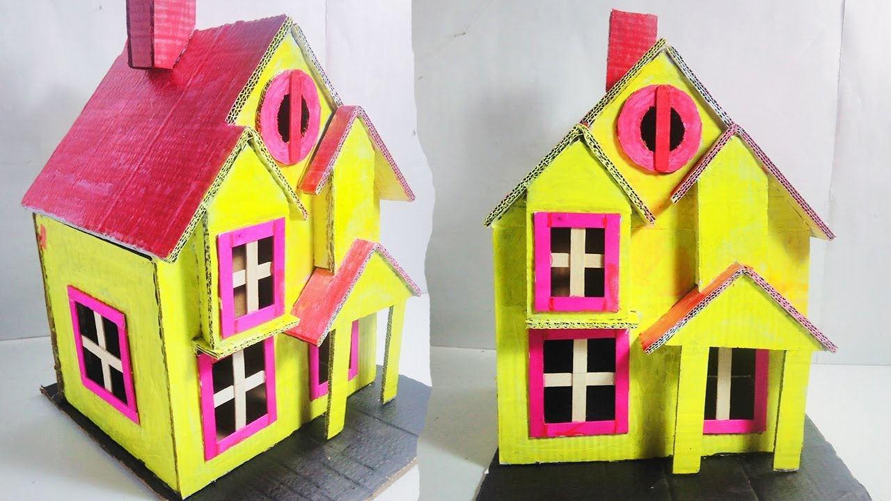 How To Make Your Own House For Kids Best School Project Paper Diy