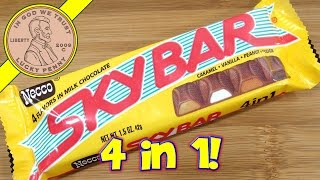 Necco SkyBar Milk Chocolate Candy Bar - 4 Flavors In 1
