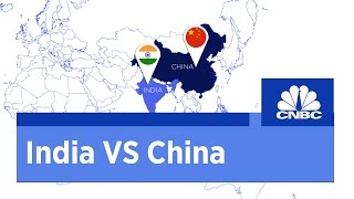 India VS China - A side by side comparison | CNBC International