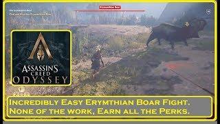 Assassin's Creed Odyssey - Easy Erymanthian Boar Fight