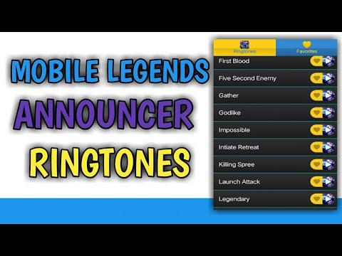 Mobile Legends Announcer | Ringtones