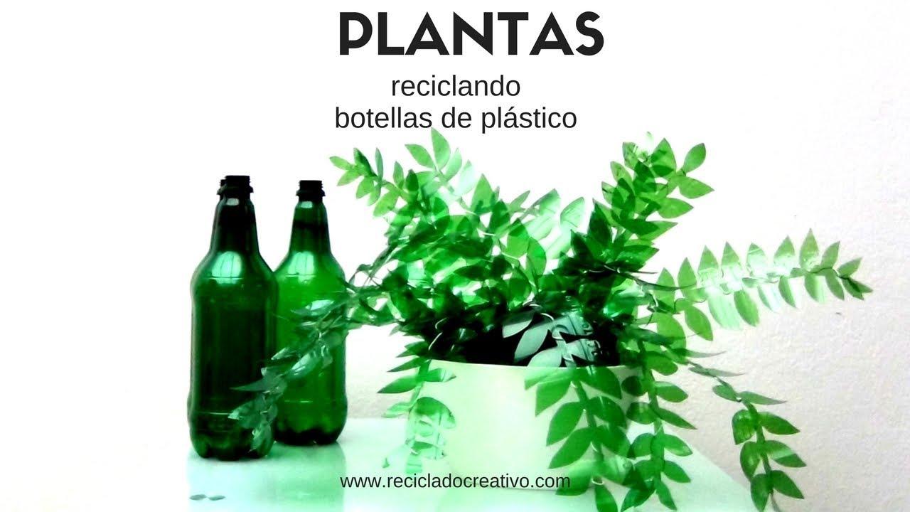 C mo hacer ramas de rbol con botellas de pl stico tree for Adornos con botellas para plantas