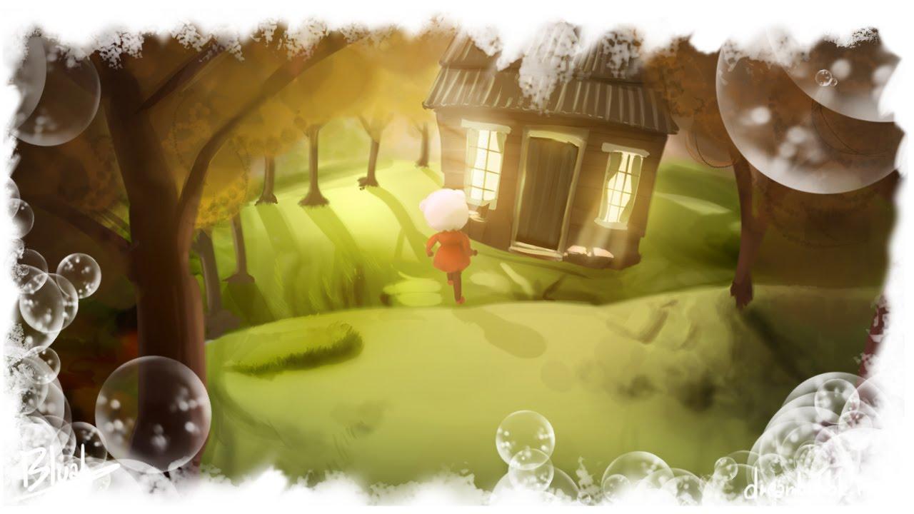 Speedpaint house in the woods dreams fan art youtube - The hideout in the woods an artists dream ...