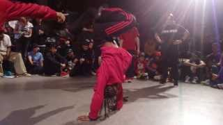 BGirl Eddie & BGirl Terra (Soul Mavericks/Dragon Assassins) vs Deemite & H Quarter Final BOTY 2013