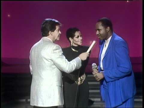 Dick Clark Interviews Melba Moore & Freddie Jackson - American Bandstand 1986