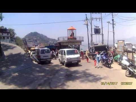 Ride through Mussoorie, India