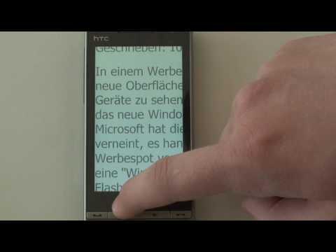 HTC Touch Diamond2 Internet