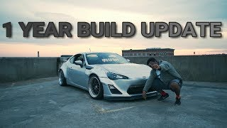 ROCKET BUNNY FRS 1 YEAR BUILD UPDATE!!!