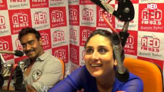 Singham Returns stars ki dhamaakedaar entry at Red FM Studio