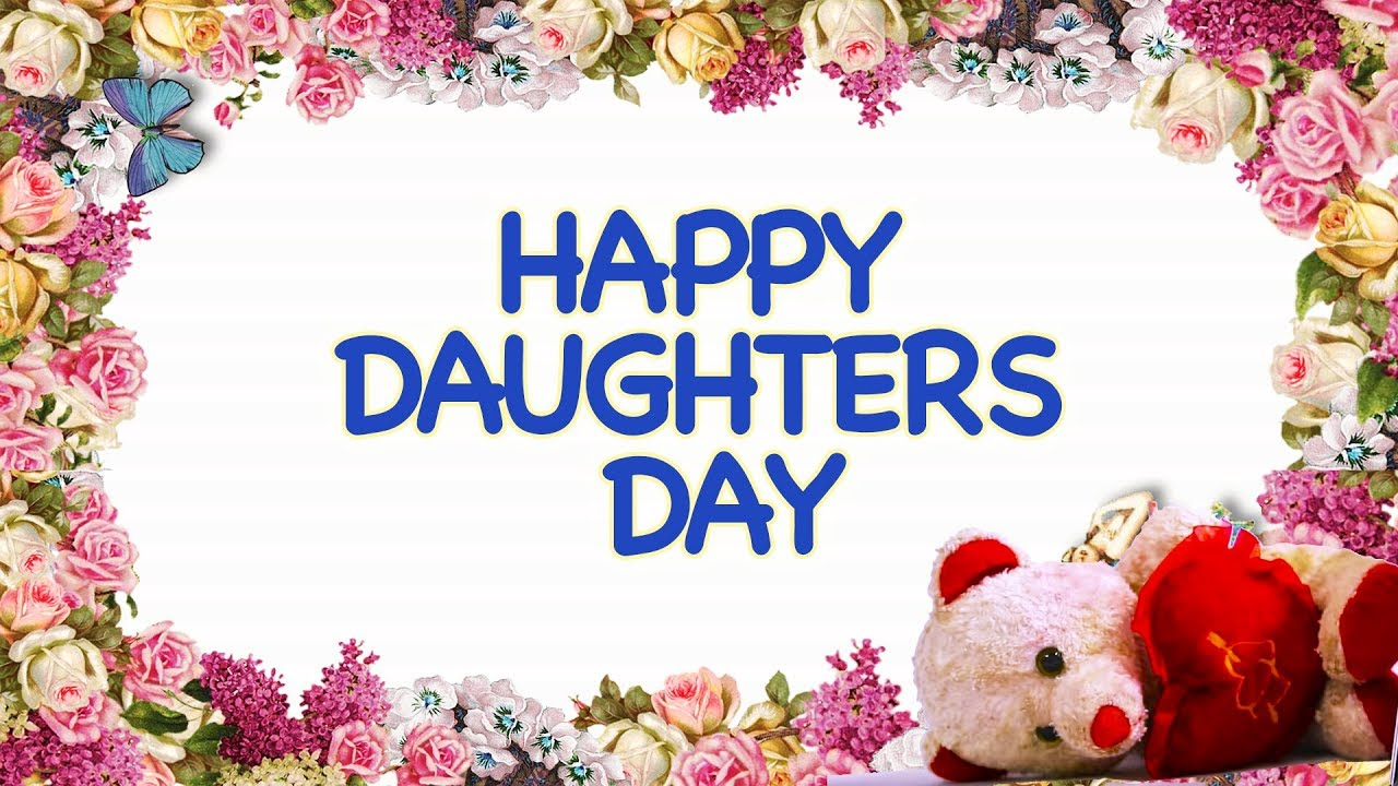 Happy daughters day funzoa mimi teddy wishes all girls for happy daughters day funzoa mimi teddy wishes all girls for being the best daughter kristyandbryce Images