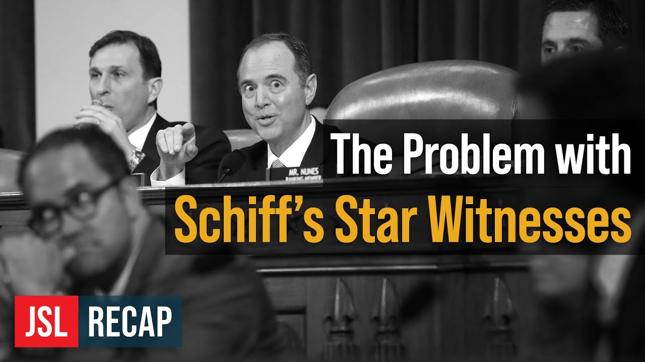 ACLJ The Problem With Schiff's Star Witnesses - A Policy Dispute is Not Grounds to Impeach the Presi