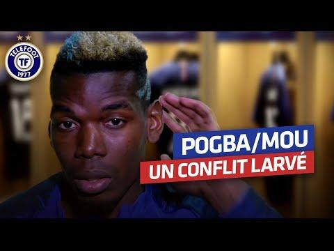 """Pogba : """"Il n'y a pas de prise de tête avec Mourinho"""" (Avril 2018)"""