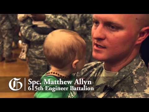 615th Engineer Battalion comes home