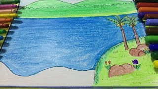 How to draw a beautiful Landscape