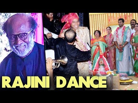 Superstar Dance at Soundarya Rajinikanth Wedding | Vishagan Vanangamudi | Marriage Video