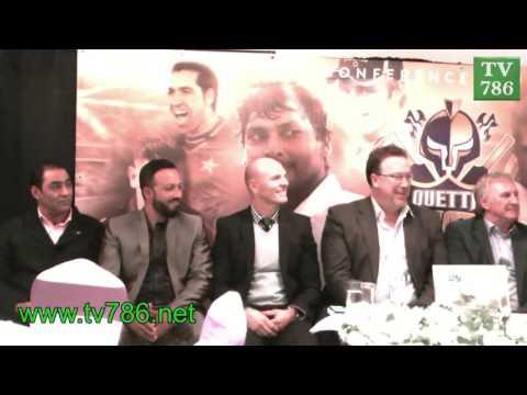 Quetta Gladiators London Media Conference