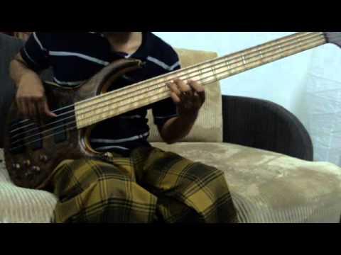 M. Nasir (Kembara) - Hati Emas (bass cover)