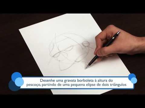 Como desenhar o Moe