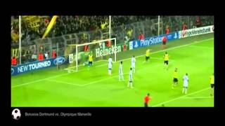 Video Gol Pertandingan Olympique Marseille vs Borussia Dortmund