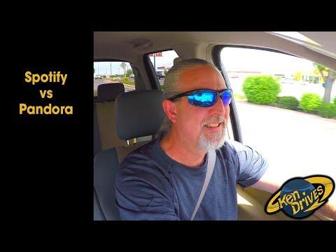 Ken Drives: Spotify vs Pandora Mp3