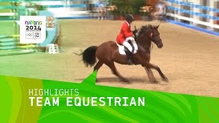 International Team Equestrian - Highlights | Nanjing 2014 Youth Olympic Games